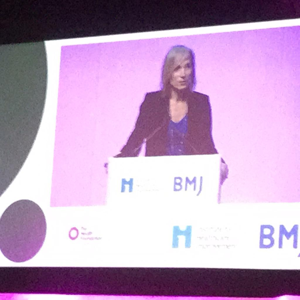 "@CelineSchill talking at #Quality2015 about inspiring quality impt. ""NHS Improving Quality people blow my mind"" http://t.co/C3LWZymVYy"