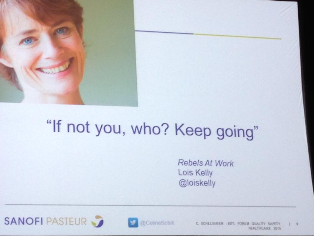 Rebels are good for the workplace #Quality2015 #qfa1 http://t.co/9zW242ytGm