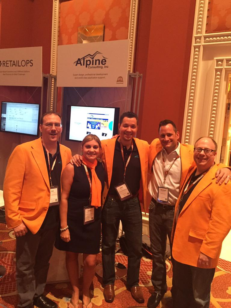 alpinemagento: Great visiting with all that stopped by Booth 4 yesterday. #ImagineCommerce @AlpineCnsltg http://t.co/DTJMiyVN9n