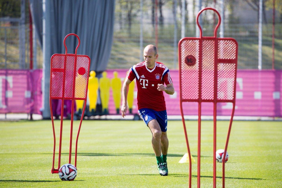 Arjen #Robben macht Fortschritte auf dem Weg zum Comeback. Wir freuen uns auf dich!