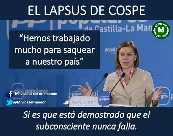 España rendida ante el arranque de sinceridad de Maria Dolores de Cospedal.   http://t.co/WctFOEhruD @geapaton @joseangomhern