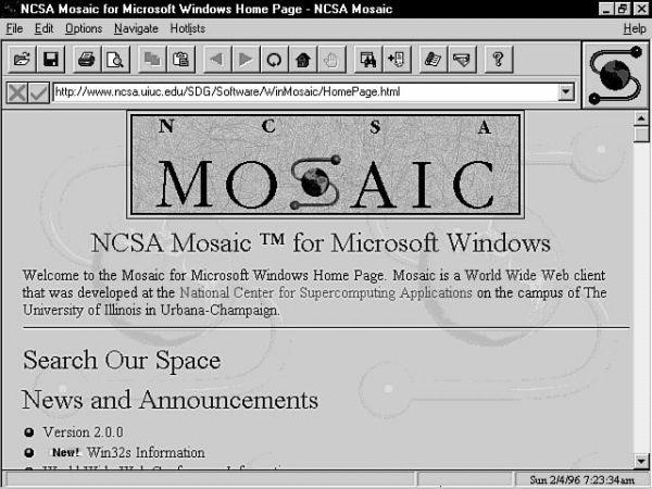 NCSA Mosaic, the first web browser I ever used, released today in 1993 http://t.co/oB2tY2LA1i