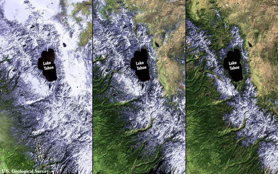 As California suffers from severe drought, the Sierra Nevada snowpack is melting #EarthDay: http://t.co/1gxnuMJDDB http://t.co/xoPu7NJaVZ