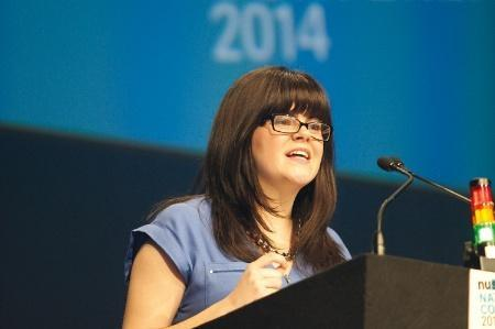 Congratulations @megandunn116 on becoming the new @nusuk President! #NUSconference #nusnc15 http://t.co/AzRLK7IrxO