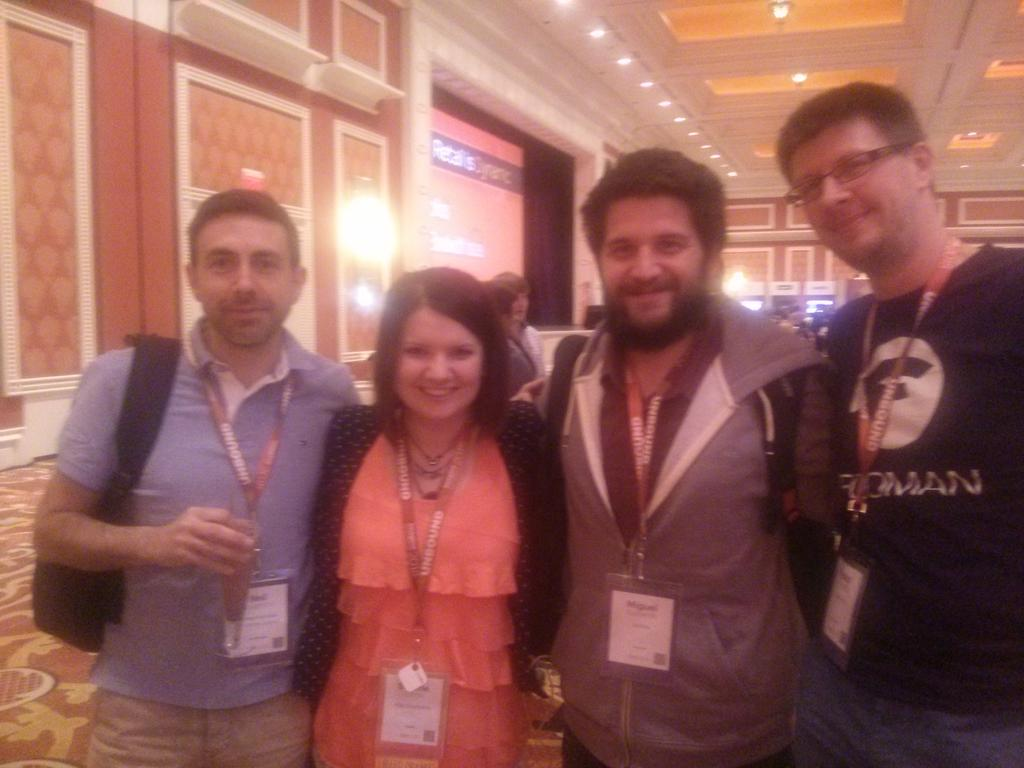 sherrierohde: The latest MCSS, world traveler, infamous kiwi and me! #realmagento #imaginecommerce http://t.co/m4PwHP2HWO
