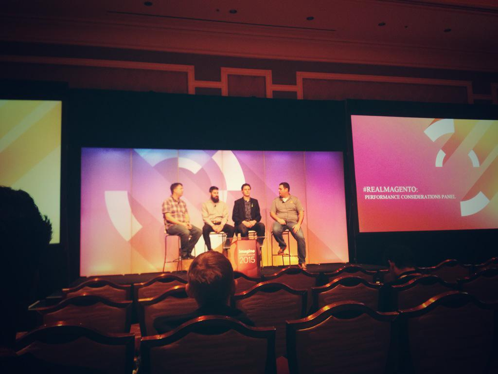 aronstanic: Performance is strong with these ones - @JoshuaSWarren @Falkowski @blackbooker #RealMagento #ImagineCommerce http://t.co/lBVTtgRYGM