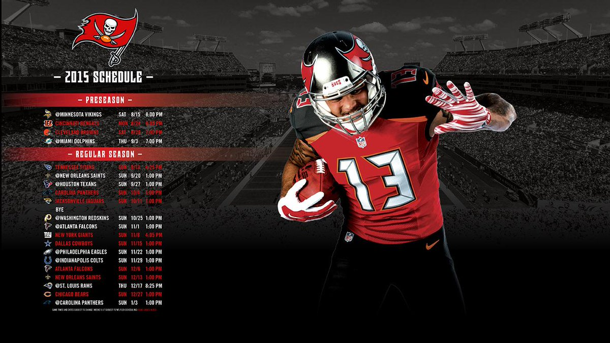 Tampa Bay Buccaneers On Twitter Download A Bucs 2015 Schedule Wallpaper For Your Computer Today Click Here To Tco 50aa9GQzsD