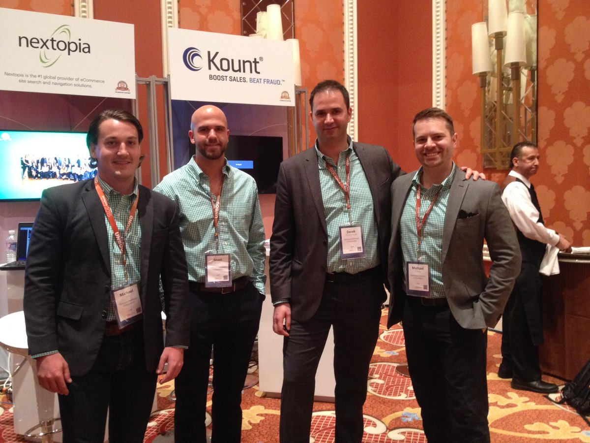 Nextopia: Nextopia's Search Experts had a great day in #Vegas yesterday, and rocked their green shirts! #magentoimagine http://t.co/hCBe7Zqodz