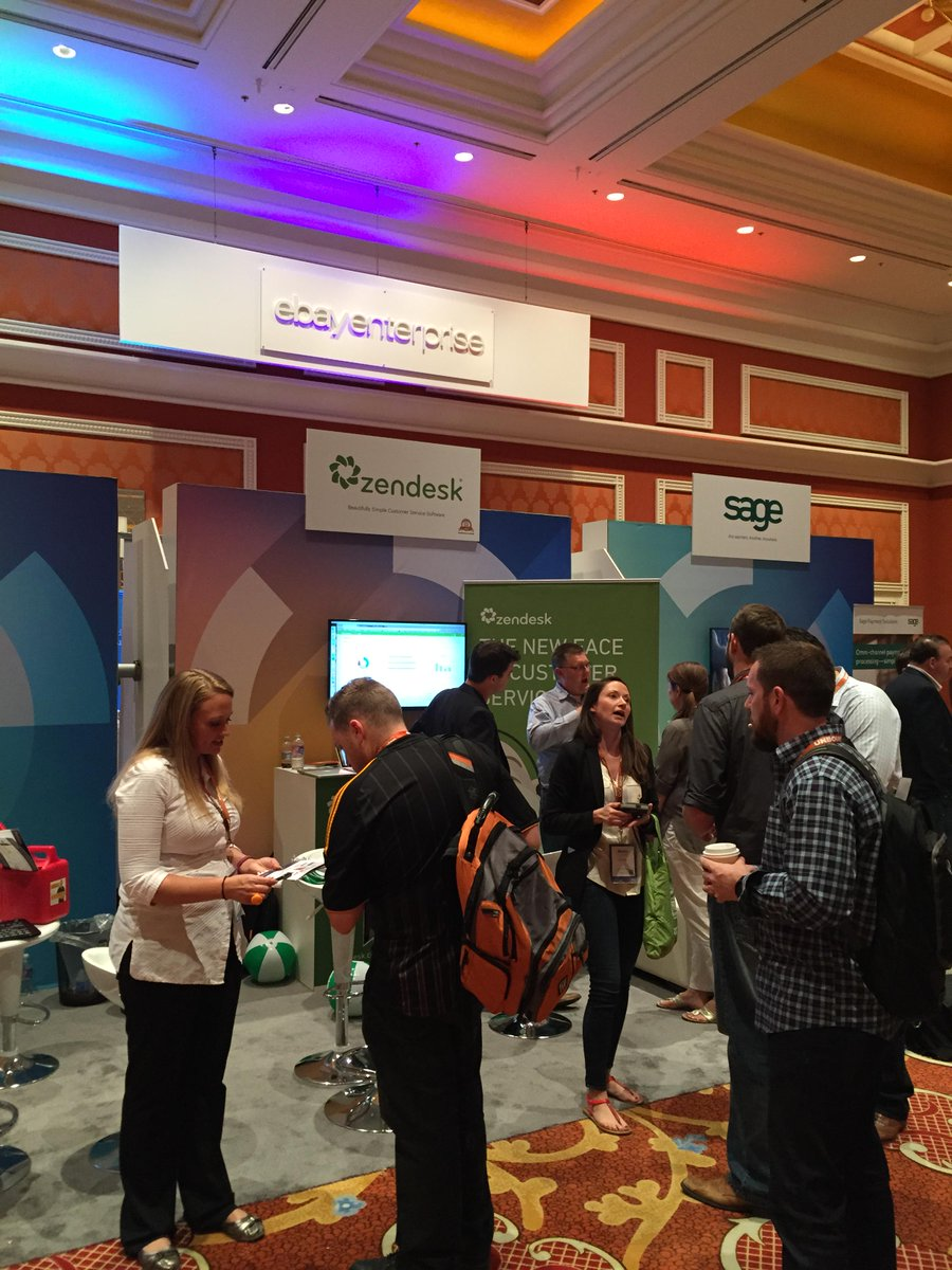 AugustAsh: We love seeing our vendors at #MagentoImagine. @Zendesk makes online ticketing fast and easy to use for our clients! http://t.co/XdfCaVrmfO