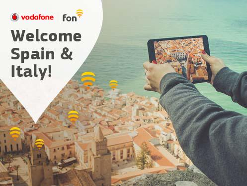 Great news! Vodafone Spain and Italy become Fon partners. +info: http://t.co/MjDRGHL5YR http://t.co/O1wFZuOOgG