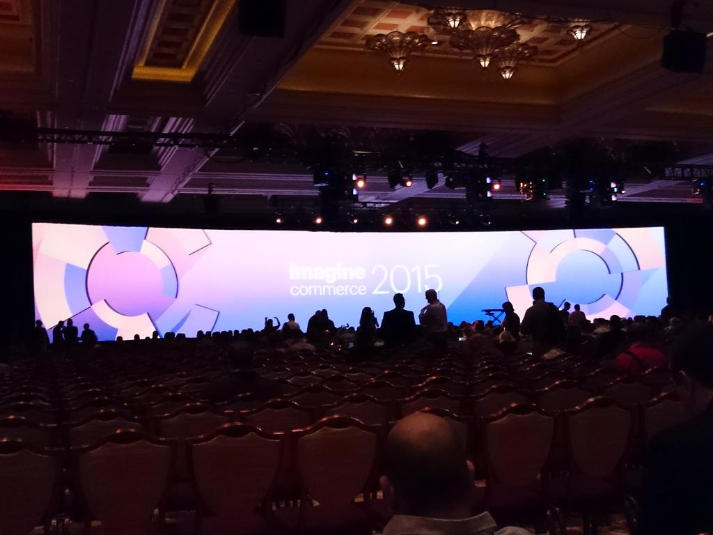 magento_rich: General session starting soon. Come on down! #ImagineCommerce @magento http://t.co/mFQiNnhdtY