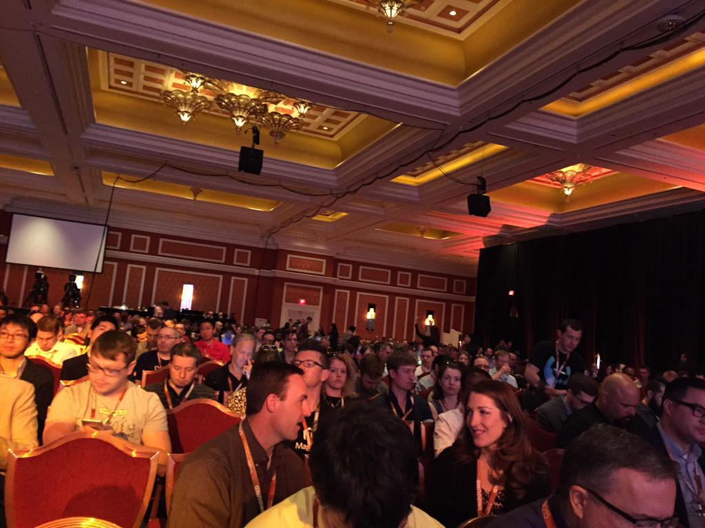 DCKAP: The show is about to begin #ImagineCommerce http://t.co/GnW3Ov10nV