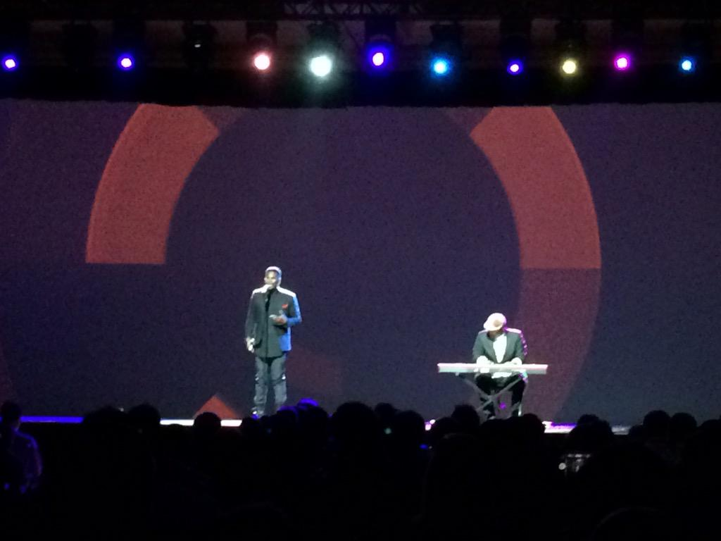ShipperHQ: Final keynote of #ImagineCommerce 2015 starts with a moving serenade. http://t.co/naKabNgR85