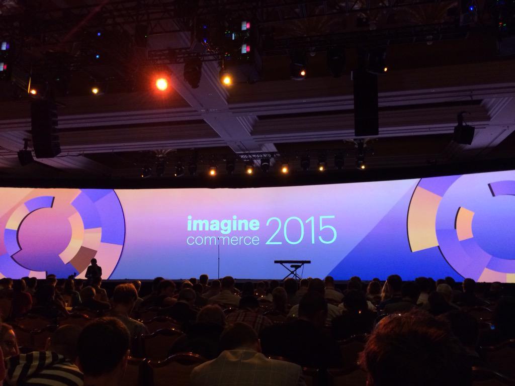 mediawave_trend: Tag 3 auf der #ImagineCommerce beginnt mit der dritten Keynote #Magento http://t.co/Qk3iyKXTEu