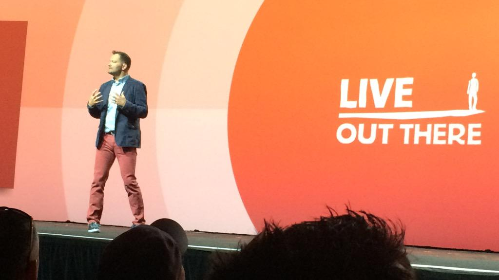 Hosting_Mike: Great to hear Jamie Clarke (@JC_Climbs) talking about Live Out There #ImagineCommerce http://t.co/o35FxJcUvC