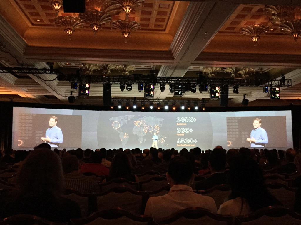 benmarks: .@mklave1 announcing 240k+ customers, 300+ partners, 4500 certified devs globally to 2400 people at #ImagineCommerce http://t.co/evs8ItaSXm