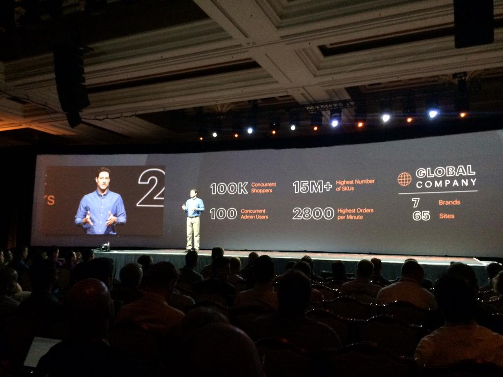 blackbooker: Nice insight into stats showing what Magento 1.c can do! #ImagineCommerce http://t.co/oCUDdTwotP