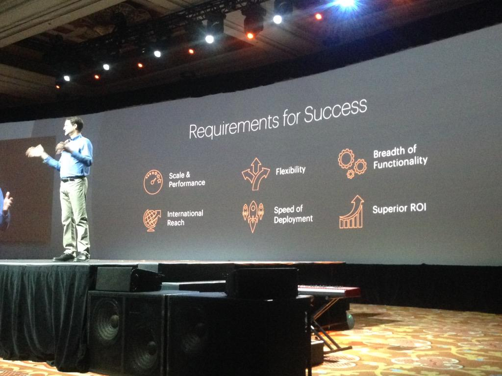 SheroDesigns: Requirements for success = develop with scalability & performance + world wide approach @mklave1 #ImagineCommerce http://t.co/zuqJEaOLfx
