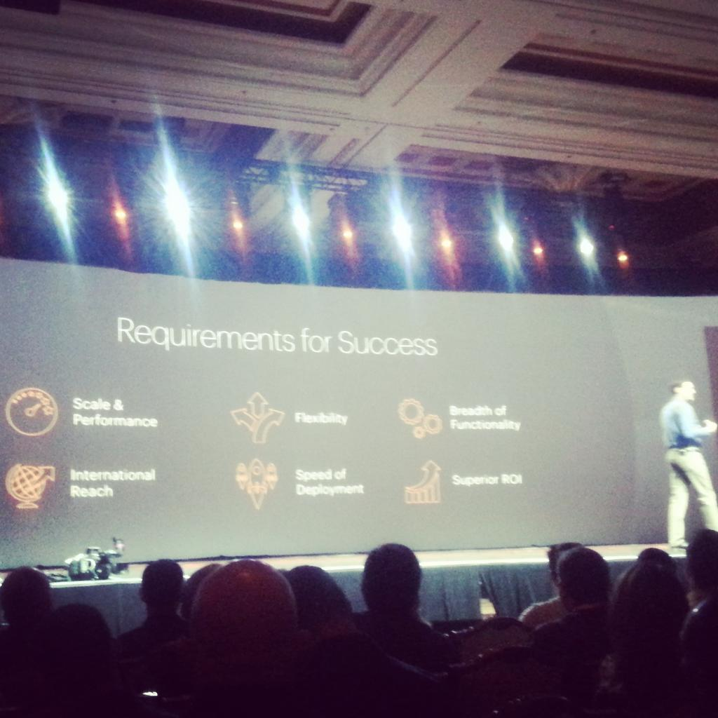 jerome_rideau: Requirements for Success according to Magento #ImagineCommerce http://t.co/wBpDQqbhQh