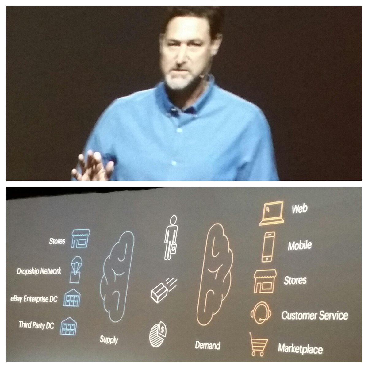 LawrenceByrd: The brain of #omnichannel is software. @mklave1 @magento #imaginecommerce http://t.co/Q1TqbDY48z