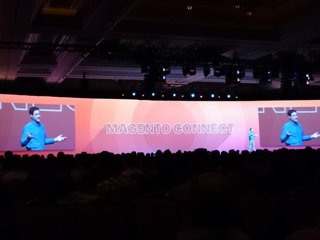 magento_rich: .@mklave1 talks about improvements in @magentoconnect #ImagineCommerce @magento http://t.co/Ur4h69H8Lb