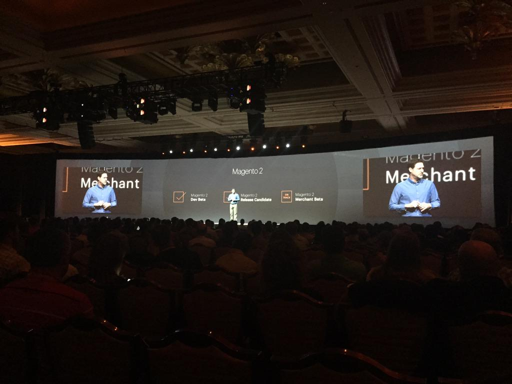 ignacioriesco: #magento2 goals done till today from last #ImagineCommerce http://t.co/2CLw2xwvLQ