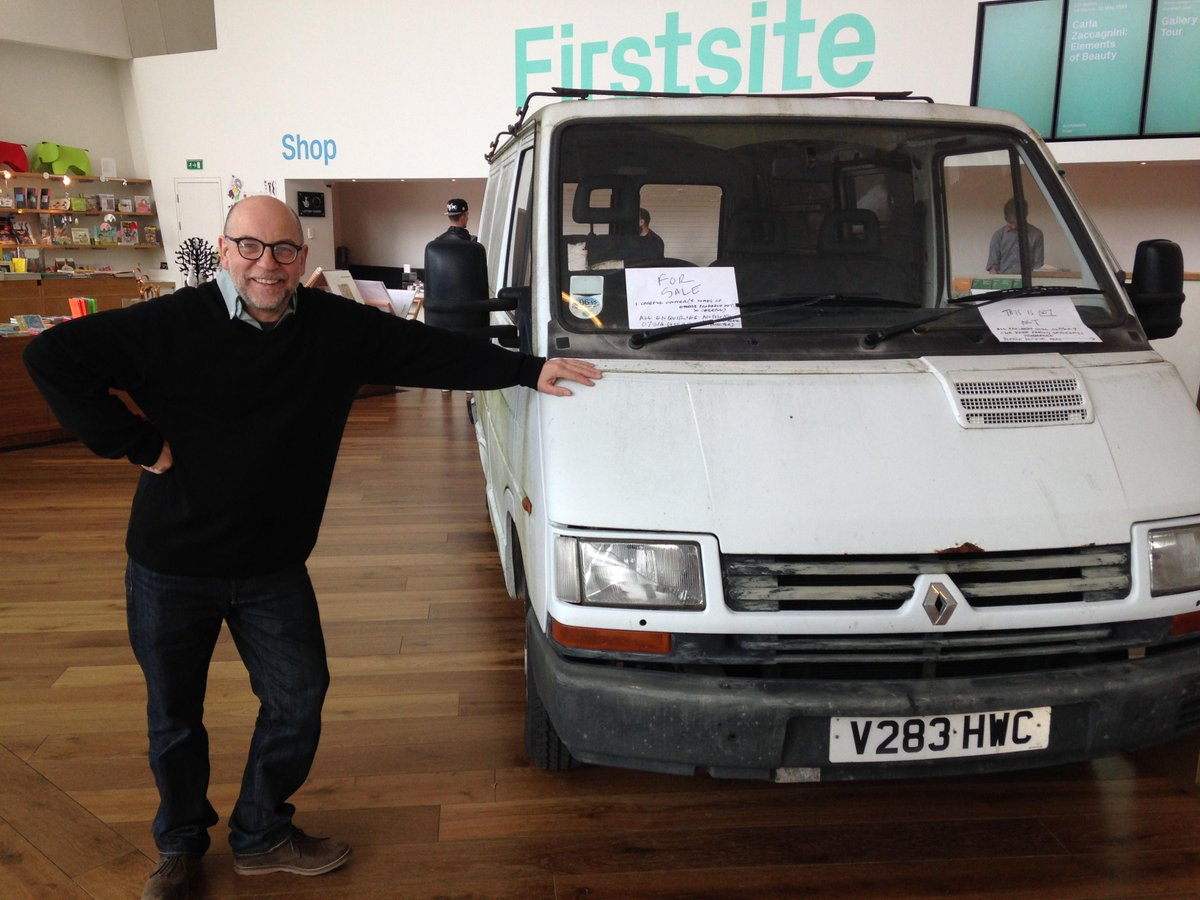 Firstsite Colchester On Twitter If You Want To Buy A White Van