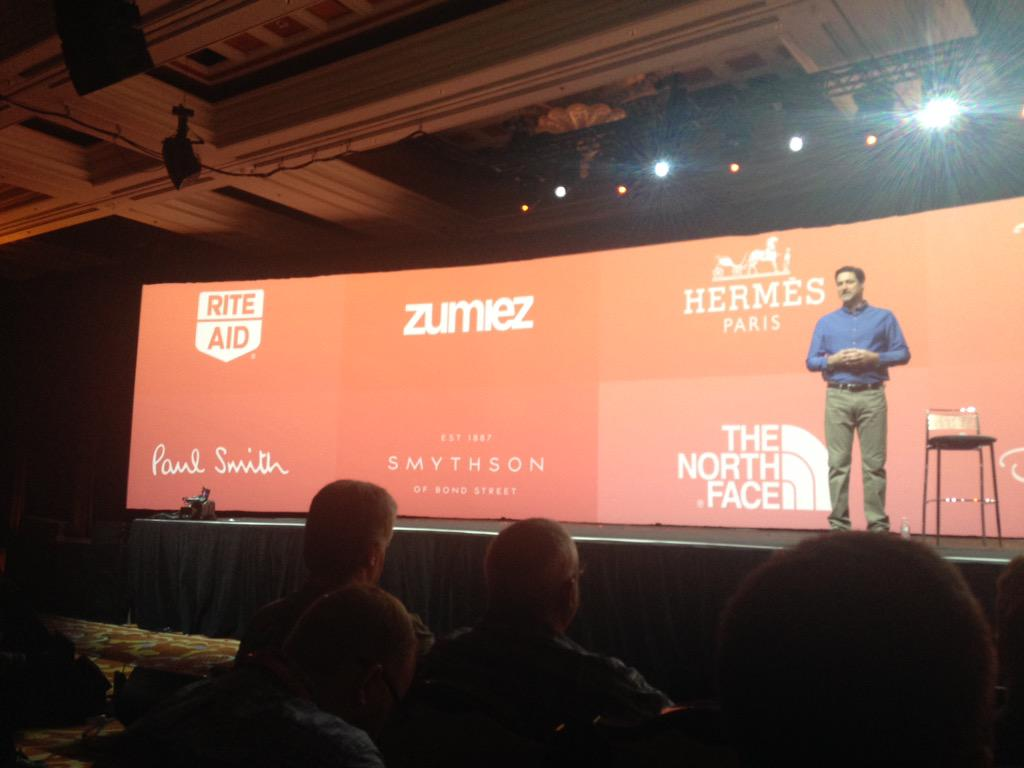meanbee: Great to see our client @Smythson featured on stage at #ImagineCommerce http://t.co/3Y4MwfI70L