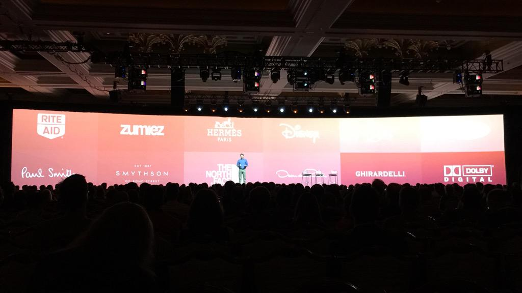 benmarks: Never tire of seeing the biggest brands among the 100k+ which use Magento. #ImagineCommerce http://t.co/0yhvT32j0P