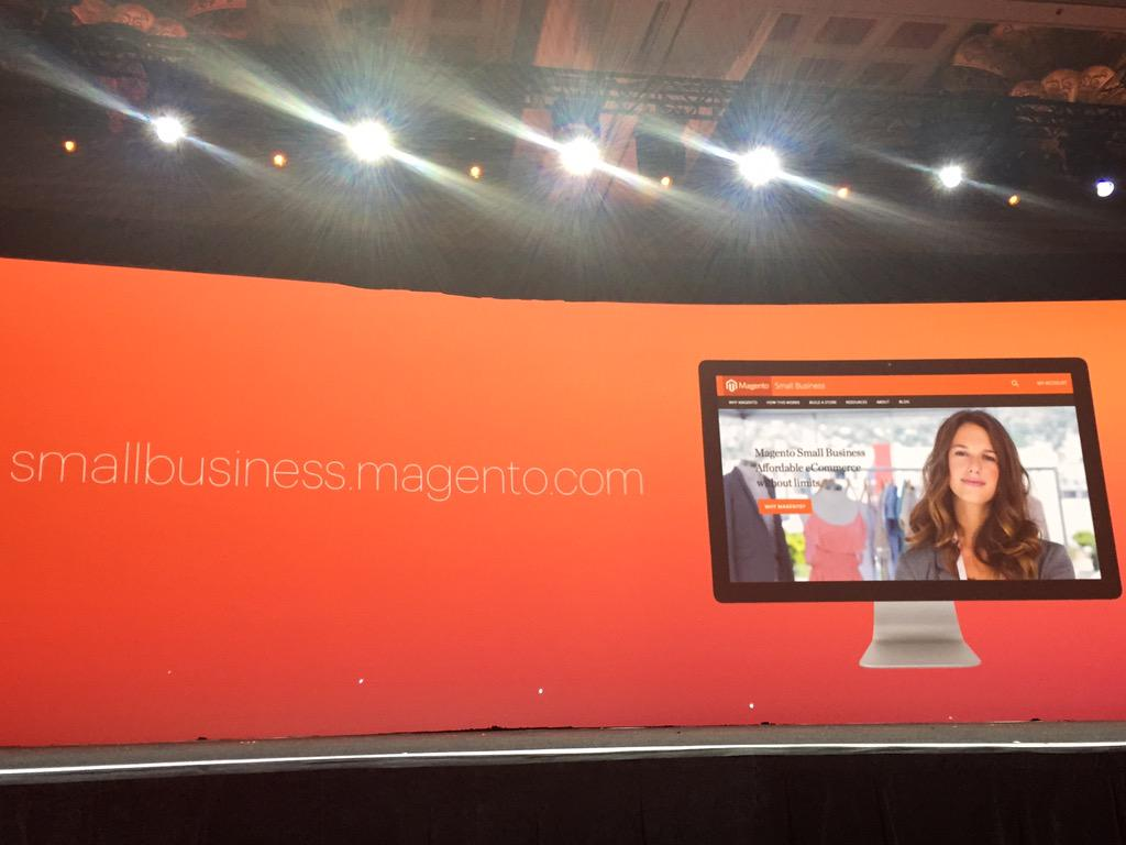 DCKAP: @magento heping Small Businesses #ImagineCommerce http://t.co/PipweKP9fM