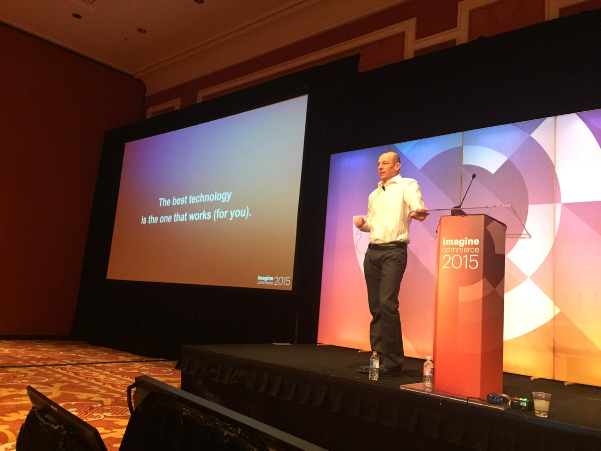 nexcess: Stop by Lafite at #ImagineCommerce right now to see our CEO Chris Wells discuss the cloud. Look for this guy :) http://t.co/v2OSHD1sm6