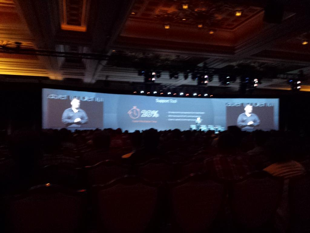 mgoldman713: The @magento SupportTool takes the stage!  @magentoimagine http://t.co/9SFraVjL3Q