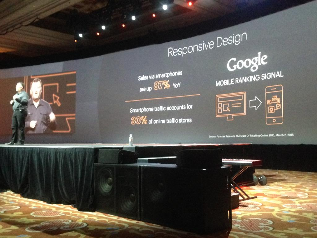 SheroDesigns: @ProductPaul Providing @magento Updates: #ResponsiveDesign #Mobilegeddon #magento is ready! #ImagineCommerce http://t.co/W99YXhCZ8q