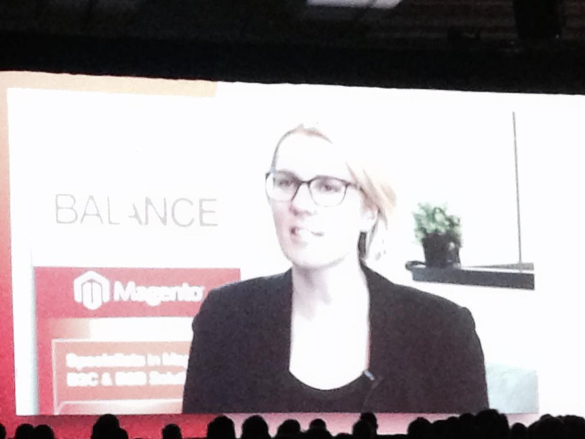 art_boyd: @kikkiK recommends @magento visual merchandising tools to #imagineCommerce nice shout out to @BalanceNetTeam http://t.co/a87046ixVe