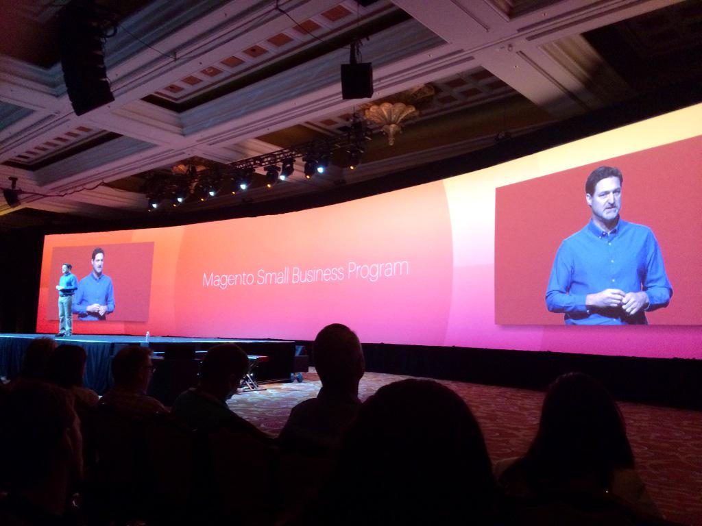 leeCommerce: Great to see our @magento #smallbusiness partners mentioned by @mklave1 #ImagineCommerce http://t.co/5FfBCT2cvj