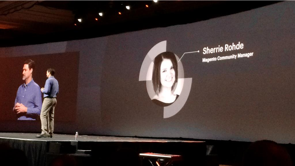 leeCommerce: So I guess this makes it officially official. Welcome to the team @sherrierohde! #ImagineCommerce http://t.co/iBetZxRczy