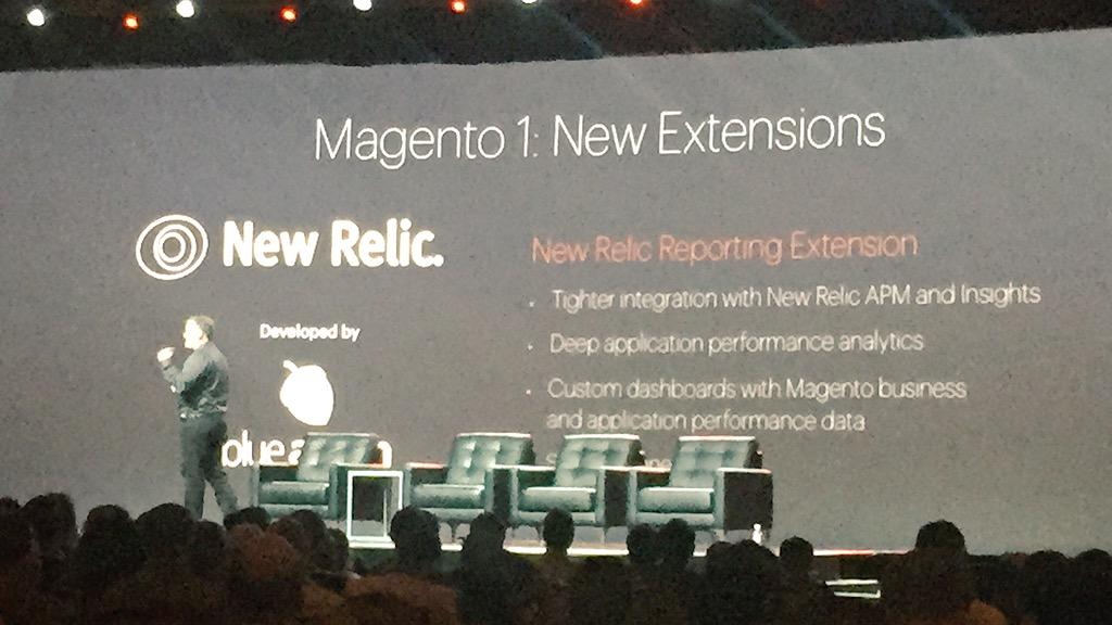 ignacioriesco: #ImagineCommerce  new @newrelic extension made by @blueacorn #nice #thanks http://t.co/BzuUMNbxoY