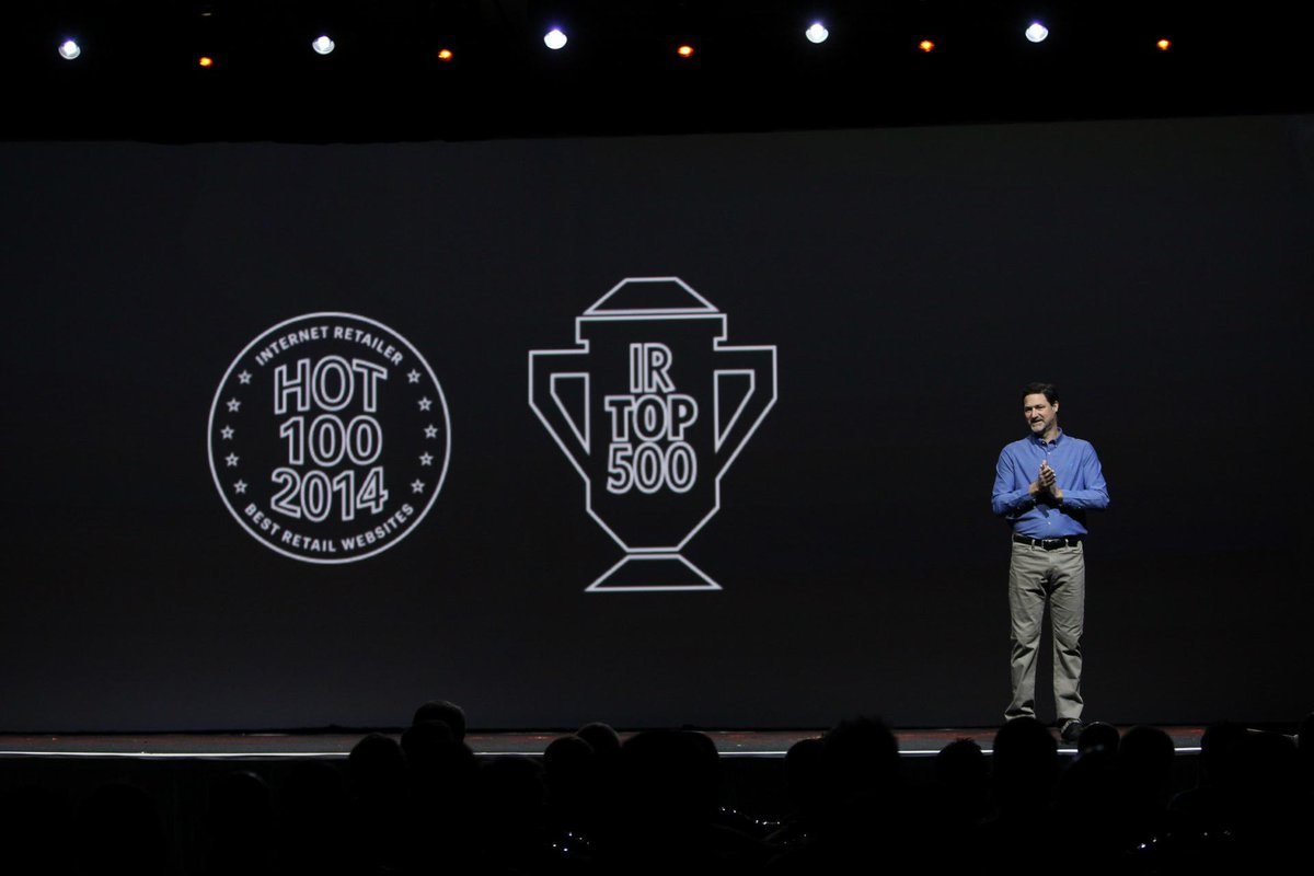 magento: Our customers have helped us achieve this! Their success is our success! #LoveOurCustomers #IR500 #ImagineCommerce http://t.co/nrAUZtsEzi
