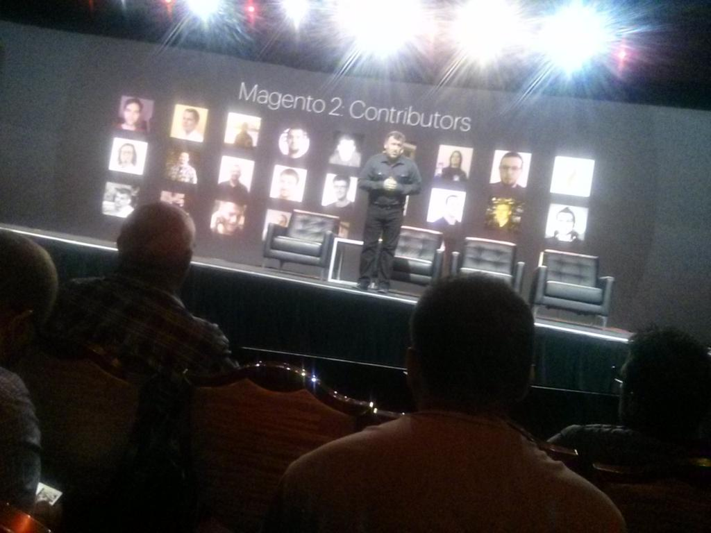sherrierohde: 'You've made #Magento2 what it is today.' @ProductPaul #imaginecommerce http://t.co/KURwQpLM9h
