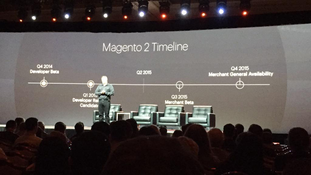 ericerway: Magento 2 timeline and Retail Order Management overview from Paul B. Big year for eBay Enterprise. #ImagineCommerce http://t.co/WRSEWY0ccC