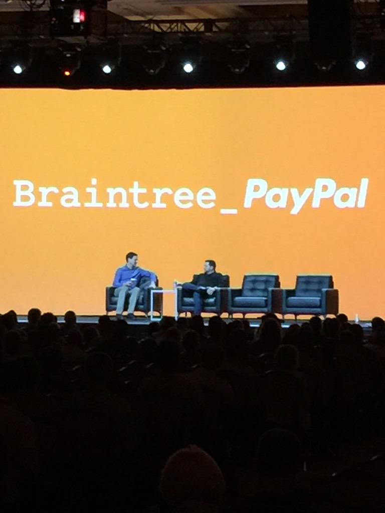 alexanderpeh: .@williamready on stage now at @magento #ImagineCommerce main stage @PayPal @braintree http://t.co/5QMW9BNgLj