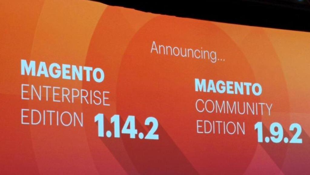 mediawave_trend: Magento EE 1.14.2 & CE 1.9.2 mit großartigen neuen Features #ImagineCommerce http://t.co/3IDOQN0z14