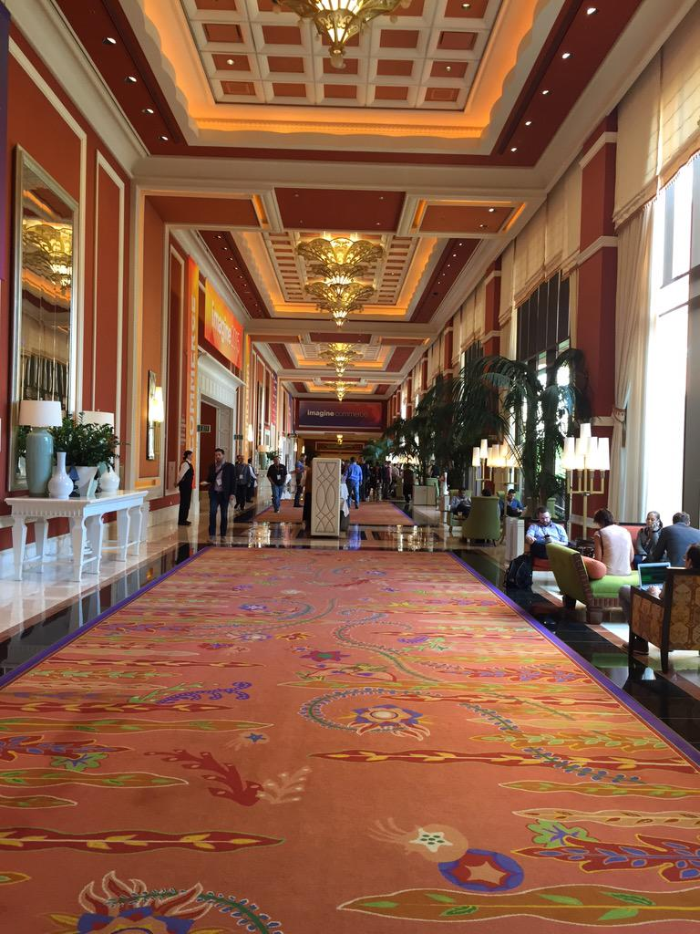 yairspitzer: One thing for sure. This Wynn isn't just a hotel. It's a City! Took me 10 mins to walk to breakfast #MagentoImagine http://t.co/9Z0byr73W3