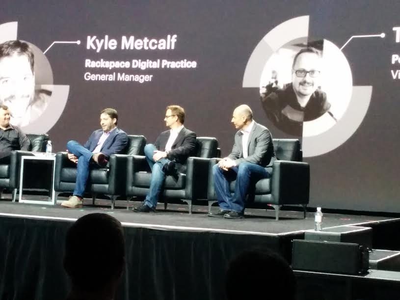 nexcess: On stage discussing cloud with @ProductPaul, @Rackspace, and @PEER1 at #ImagineCommerce #cloudcomputing http://t.co/C3m3s4cemq
