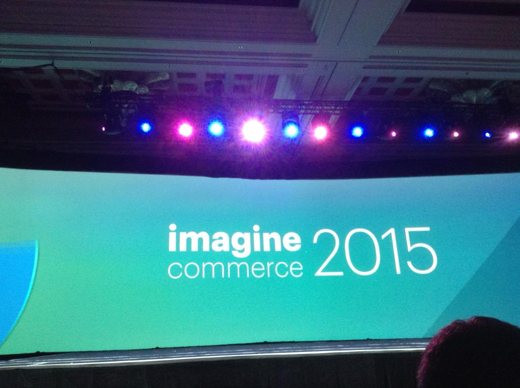 krn10236: #ImagineCommerce Great event and organized exceptionally well. Great insights and customer success stories. http://t.co/tDabzGIo99