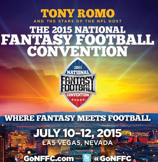 Join me in Vegas @ NAT'L FANTASY FTBALL CONVENTION. Use promo code WEEDEN & save $25 http://t.co/bsBQDTB3Cz @gonffc http://t.co/slSgdNXUMY