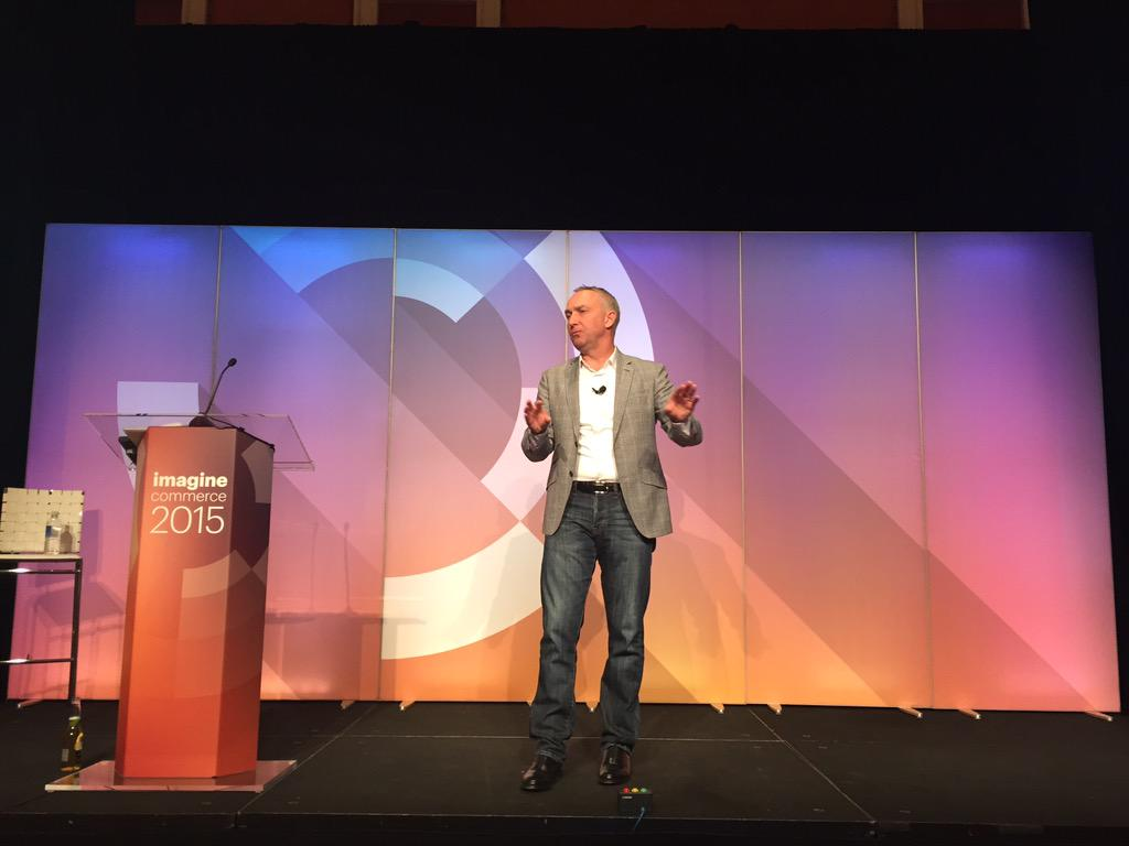 DCKAP: @eBayEnterprise will be running harder and faster @chayman at #ImagineCommerce partner summit http://t.co/De7IFKOGMw