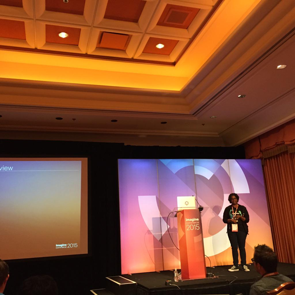vrann: Maddy on new way to write install and upgrade classes #ImagineCommerce http://t.co/naxNmHywLW