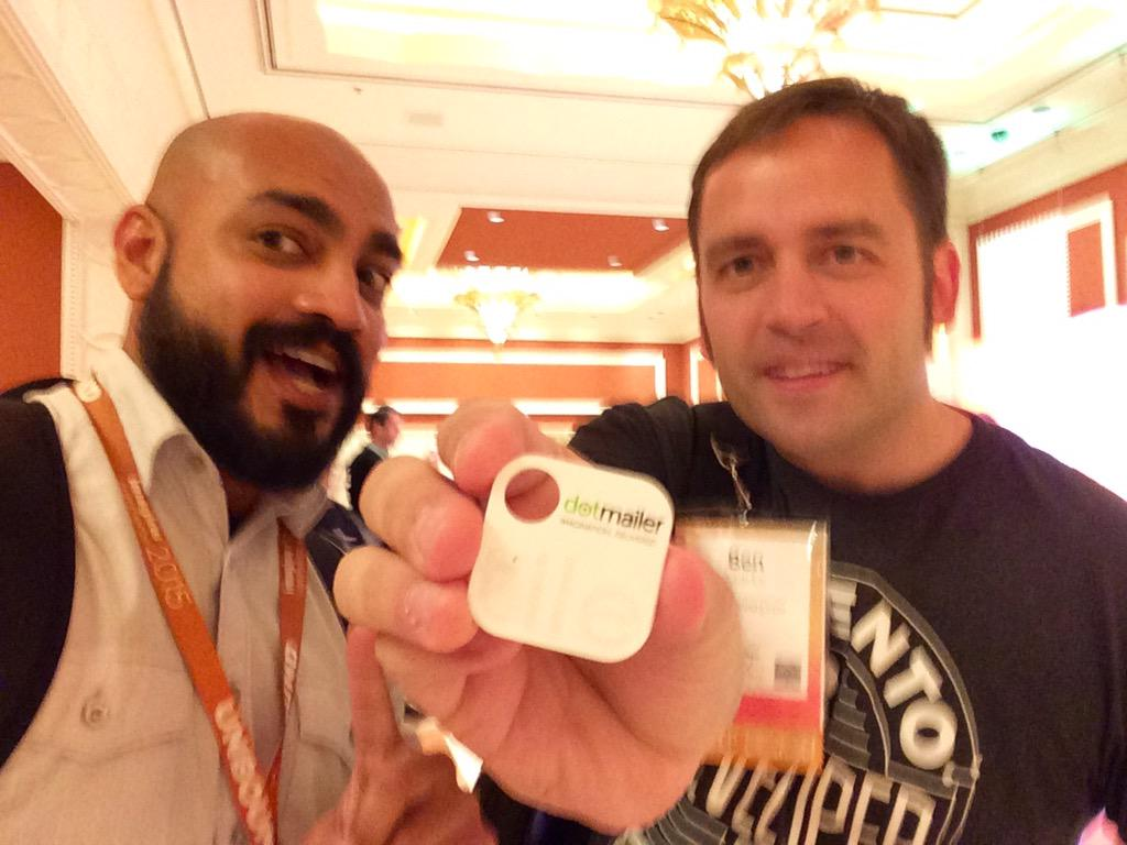 _Talesh: Now that #MagentoImagine is over I get my @dotmailer Tile on @benmarks! http://t.co/dXUVo4cwa2