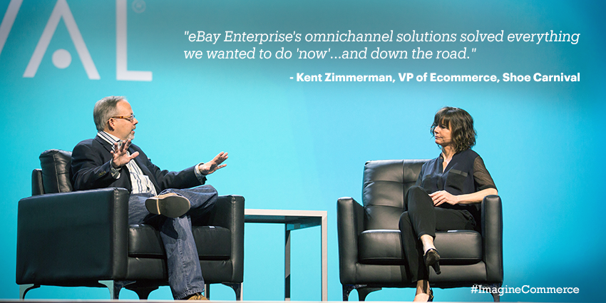 eBayEnterprise: Thank you @ShoeCarnival for sharing your #omnichannel story with us on stage at #ImagineCommerce http://t.co/X2w20IwnJG